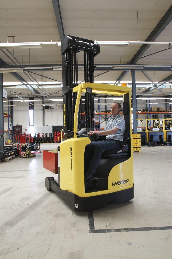 Test Warehousetrucks Speed Vs Productivity Logistics