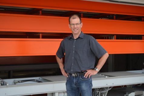 """Owner and managing director Jörg Schneider: """"We were able to significantly increase our capacity, shorten our transport paths and make our inventory much more transparent."""""""