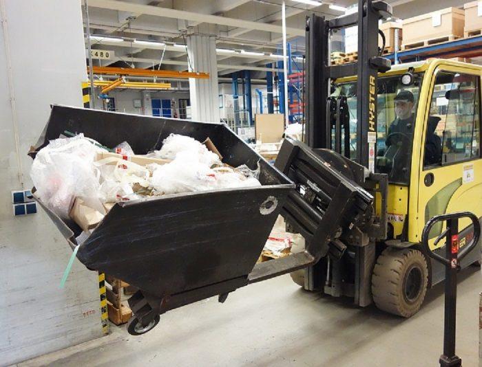 70 New Hyster forklift trucks for Koenig & Bauer - Logistics